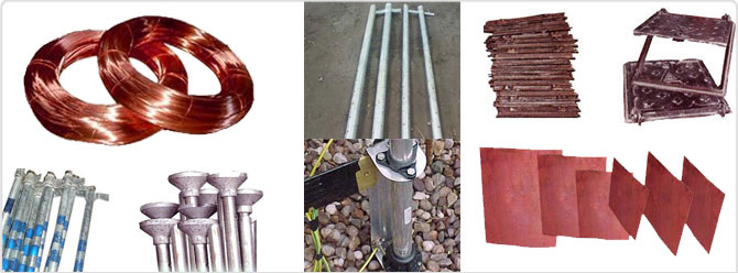 Earthing Material Installation Earthing System Earthing