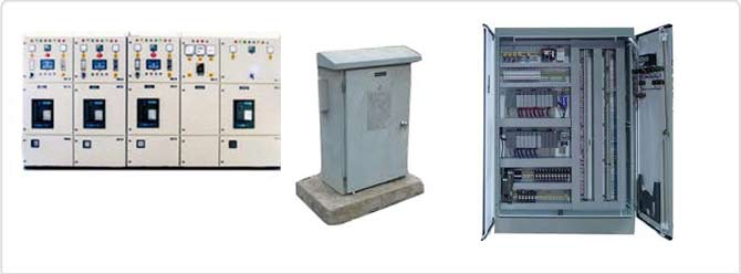 Electric Panels - Synchronizing Panel, LT Panel, HT Panel