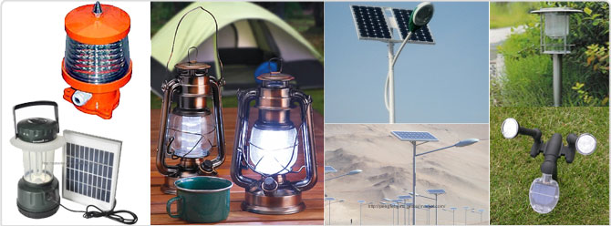 LED and Solar LED Lights