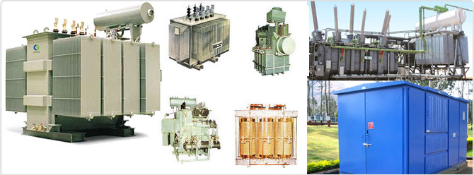 Transformers Oil Cooled Transformers Power Transformers